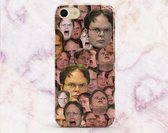 The Office TV Show Dwight Schrute iPhone 8 Case iPhone 7 iPhone 7 Plus 8 Plus Case iPhone 6S Case iPhone SE Case Samsung S8 Office TV Case
