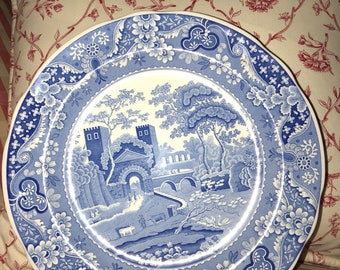 French Country Toile Spode Blue Room Collection Castle