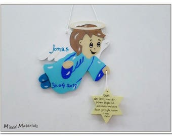Christening Angel guardian angel for boys