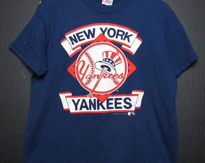 New York Yankees MLB 1989 vintage Tshirt