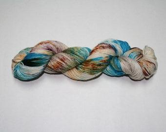 Boho Hand Dyed Sock Yarn