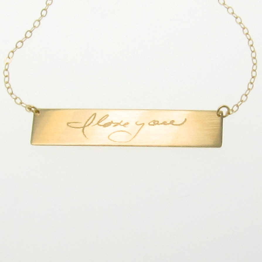 Reserved for jessi matthys gold nameplate necklace custom zoom aloadofball Images