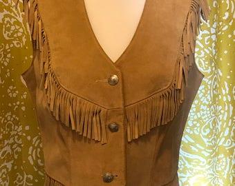 Ms. Pioneer Fringe vest!