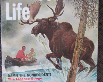Vintage Outdoor Life Magazine December 1961 Free Shipping