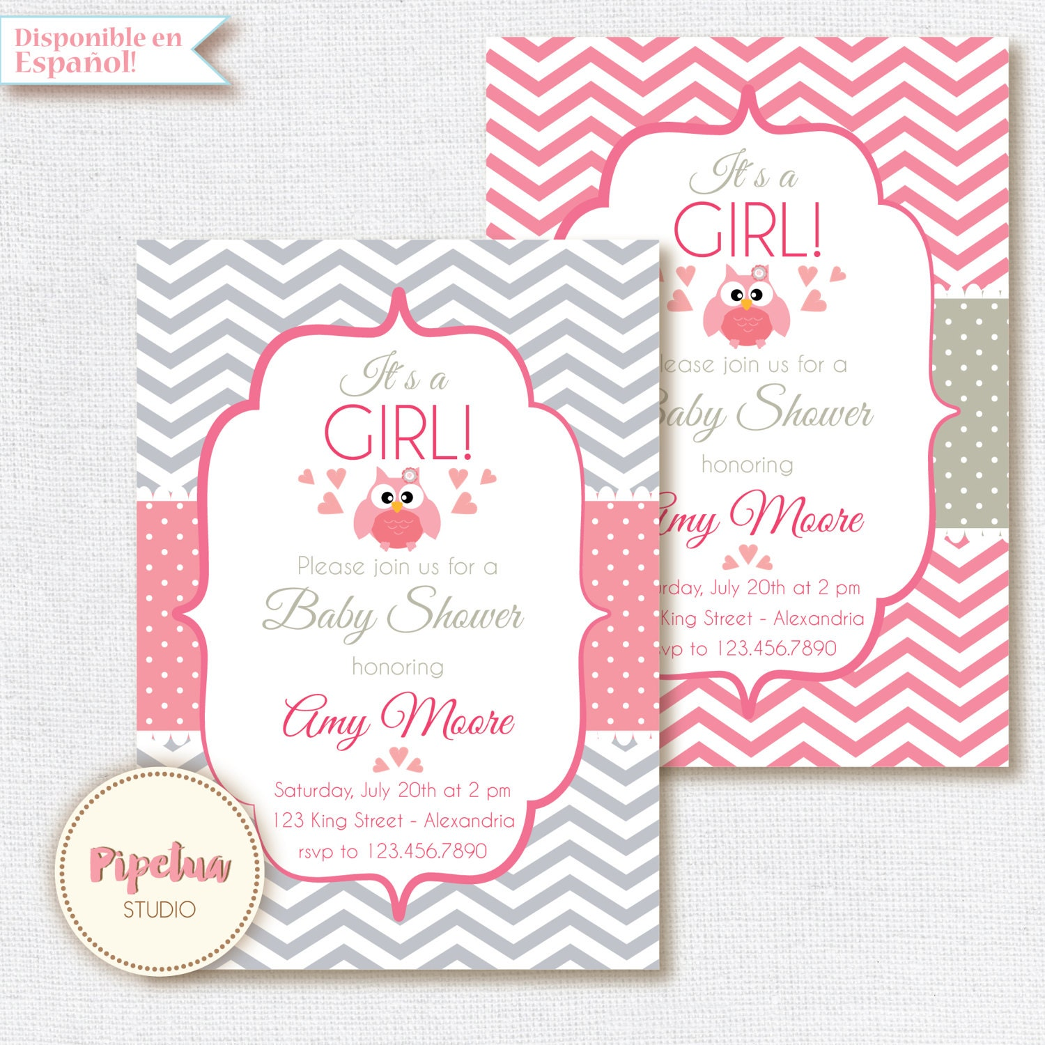 Leopard print baby shower invitations christmas card messages for baby shower invitation baby girl chevron style babyshower il fullxfull baby shower invitation baby girl chevron leopard print baby shower invitations filmwisefo Gallery