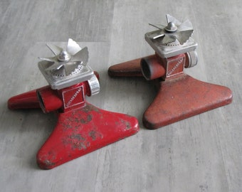 Your Choice:  It Gets the Corners Sprinkler - Metal - Red - 2 available