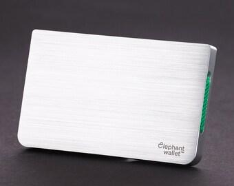 Metal wallet, slim wallet, credit card wallet, mens and womens wallet, aluminum minimalist wallet, modern design walet, N3D wallet