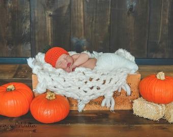 Crochet Pumpkin Hat | baby pumpkin hat, Fall baby hat, Fall baby gift, pumpkin baby gift, pumpkin beanie, kids pumpkin hat, Fall pumpkin hat