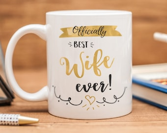 Mug for wife, great gift for your beautiful wife
