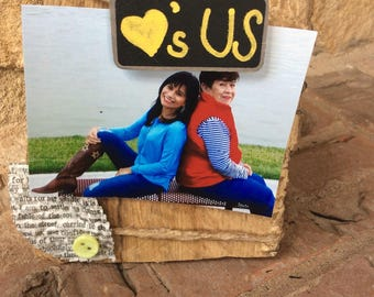 Handmade Rustic Picture Frame