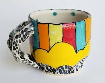 Yellow Cloud Mug