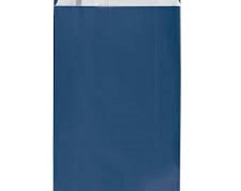 lot 25 pouches bags bags envelopes kraft 12 x 4 x 21 Blue Navy