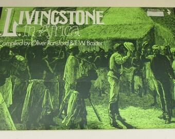 Vintage Educational Resource Pack - Livingstone in Africa - Jackdaw No.122 - Paper Ephemera