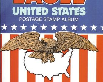 The Eagle United States Postage Stamp Album copyright 1987