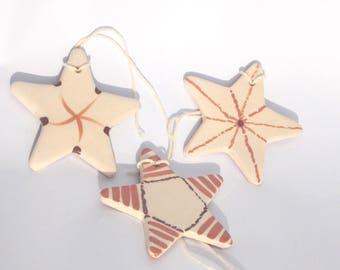 Star ceramic - home decor