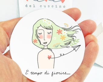 """Specchietto """"E' tempo di fiorire"""""""