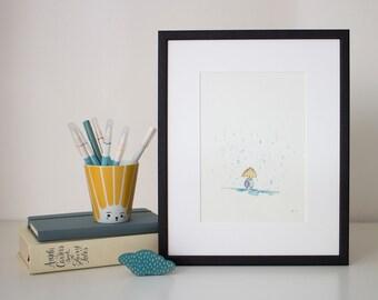 Rainy Day - unframed print