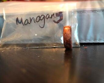 Mahogany Bentwood ring