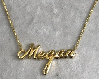 Custom name necklace, Personalized name necklace, Dainty name necklace, Name necklace for her, Bridesmaid name necklace, Tiny name necklace