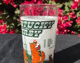 Kentucky Derby 1980 Julep Glass Free Ship