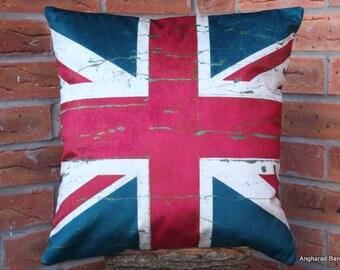 Union Jack Flag Cushion
