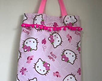Hello Kitty Library Book Bag