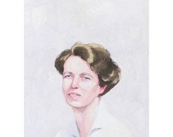 """5x7"""" print - Eleanor Roosevelt"""