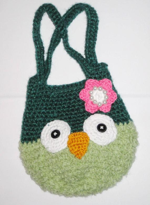 Crochet owl bag pattern + Owl amigurumi FREE crochet pattern, Easy ...