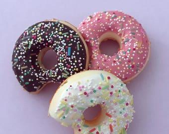 Mini food, Photo prop, mini donut, photography prop, fake donut, fake food