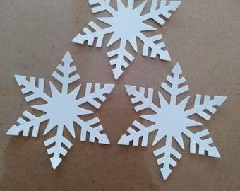 Snowflake Die Cuts - 24 Per Pack