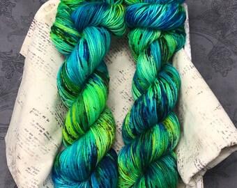 Dragonfly - Hand Dyed Superwash Sock Yarn