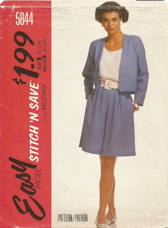 McCall\'s, Sewing Pattern, Women\'s Patterns, Women\'s Size 10/12/14 ...