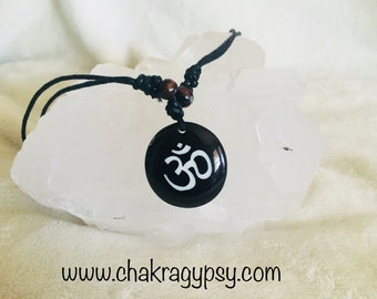 Ohm Necklace - connection with the universe