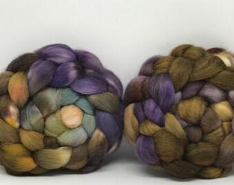 Sale Merino/Baby Alpaca/Tussah 50/30/20 Spinning Fiber - 6.5oz - Tanglewood 4
