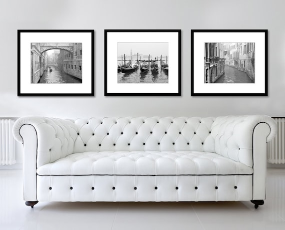 Black And White Prints Set Of 3