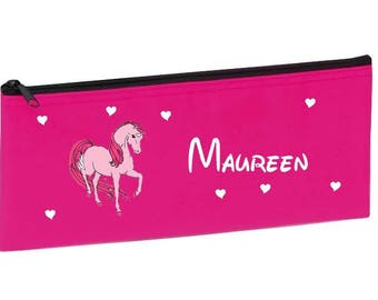 School Kit pink Unicorn personalised with name