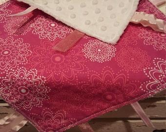 Flowers Sensory Blanket - Lovey