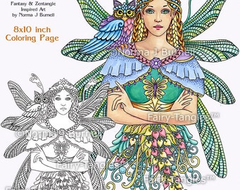 Dragonfly Fairy Printable Coloring book Sheets Norma Burnell Fairies to color Fairy Coloring Book Pages Fairies for Digital & Adult Coloring