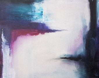 Sinuosity / 30 x 15 inches / acrylic / original painting on canvas