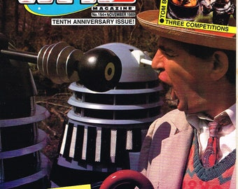 Doctor Who Magazine - # 154   -   1989