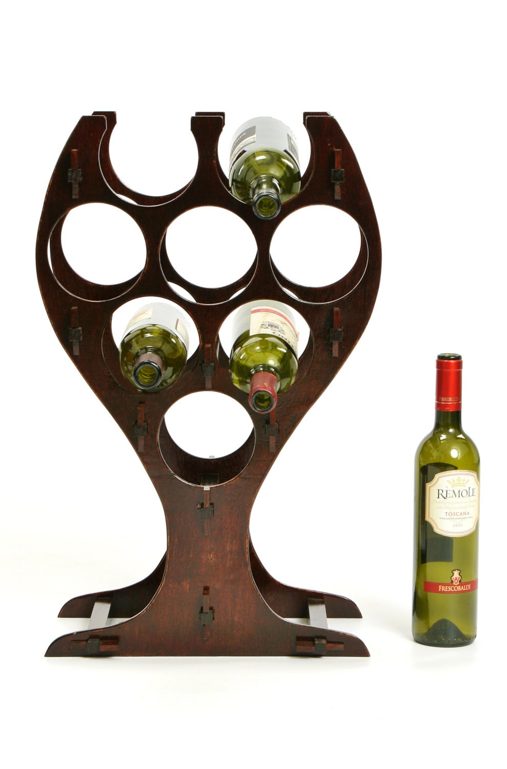 Wine rack decorative wine bottle holders unique wine bottle - Wine rack shaped like wine bottle ...