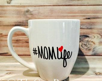Coffee Mug Mom Life, Gift for Mom, Gift for Her, Mother's Day Gift, Coffee Mug for Mom, Coffee Lover Gift, Christmas Gift