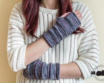 Knit mittens, Wool Gloves for Women, Open Finger Gloves, Fingerless Gloves, Christmas Gift For Her, Winter Arm Warmers, knit gloves