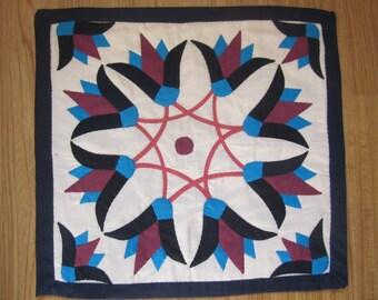 Pillow applique art, Egyptian, Handmade (2/6)