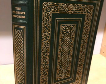 Easton Press Pilgrim's Progress by John Bunyan 100 Greatest