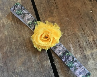 Realtree camo baby headband