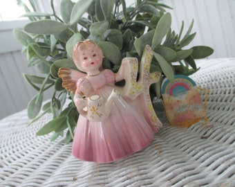 Vintage Josepf Original 4th Birthday Girl Figurine