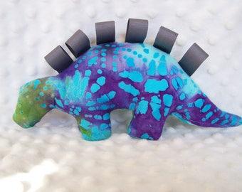 Dinosaur Stuffed Animal with Tags