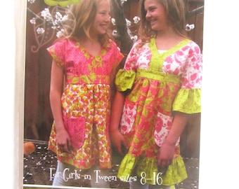 Lila Tueller Designs The Abigail Dress / Top size 8 - 16 New