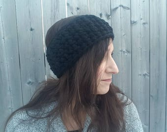 Crochet Headband, Ear Warmer, Crochet Headwrap, Winter Headband, Chunky Crochet Earwarmer, Winter Accessory, Gift for Her